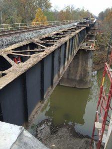 Norfolk Southern Railroad Bridge over the Olentangy River, north of Delaware, Ohio